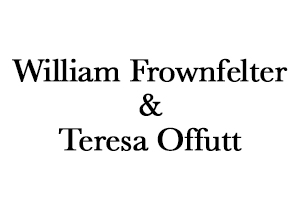 William Frownfelter and Teresa Offutt